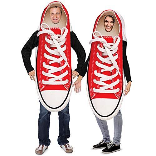 Tigerdoe Couples Costumes – Novelty Sneaker Costume – Funny Adult Halloween...