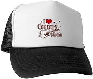I Love Country Music Trucker Hat - Trucker Hat, Classic Baseball Hat, Unique Trucker Cap