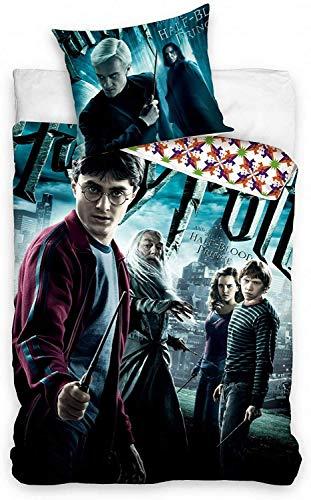 Carbotex bettbezug Harry Potter 140 x 200/65 cm Baumwolle