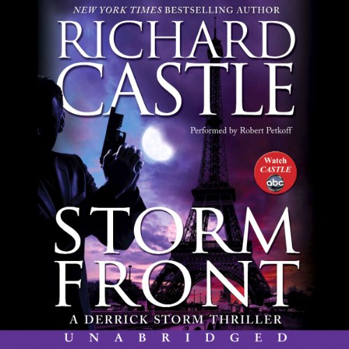 Storm Front audiobook cover art
