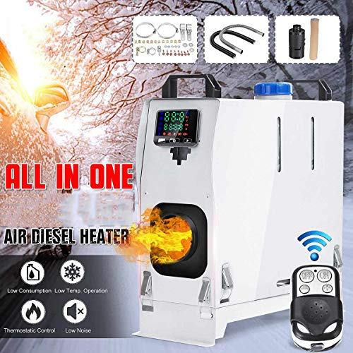 Lowest Price! BSWL 12V/24V 8KW Diesel Air Heater - Parking Heater with LCD Thermostat Remote Control...