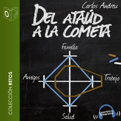 Del Ataud a la Cometa [The Coffin to the Comet] audiobook cover art