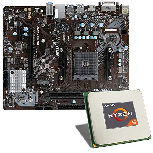 AMD Ryzen 5 3350G / MSI A320M-A PRO MAX Mainboard Bundle | CSL PC Aufrüstkit | AMD Ryzen 5 3350G 4X 3600 MHz, GigLAN, 7.1 Sound, USB 3.1 | Aufrüstset | PC Tuning Kit