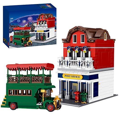 TARS Ideas Postamt Float Building Modelo 2179 Piezas Arquitectura Casa Casa Arquitectura de la serie parque de atracciones, compatible con Lego Creator Expert