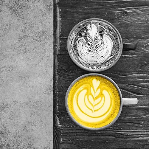 JHGJHK Taza de café Amarilla Estilo nórdico Pintura al óleo impresión Arte Dulce decoración del hogar Pintura artística decoración de Restaurante (Imagen 3)