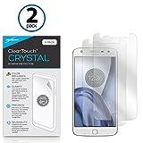 Motorola Moto Z Play protection d'écran, BoxWave® [ClearTouch Cristal (2)] HD Film...