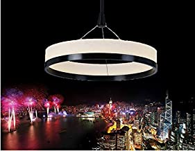 GOWE 1 single ring New Chandeliers Chandelier Acryl Ring Led Circle Chandelier Lamp/Light Fitting Fashion Designer Pendant...