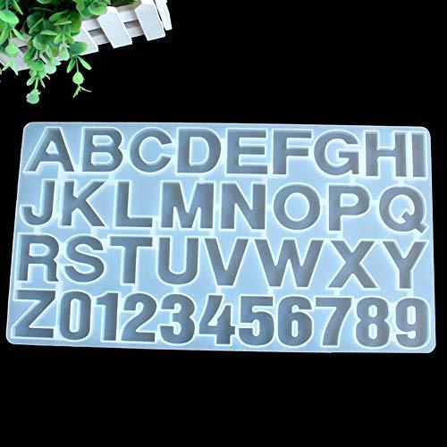 ETbotu uitsteekvormen met letters, muffa in de vorm van een taartje, chocolade van silicone, veilig in de vorm van het alfabet Engels