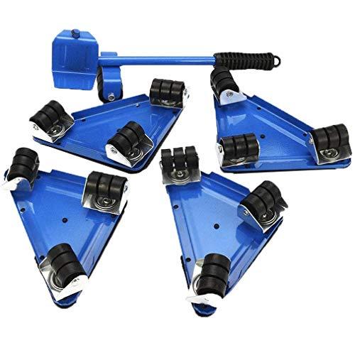 OUUCL Heavy Duty Möbel Lifter mit 4 Sliders for einfache und sichere Bewegen - Mover Tool Set - Max for 250kgs / 500 lbs - 360 Grad drehbar Pads