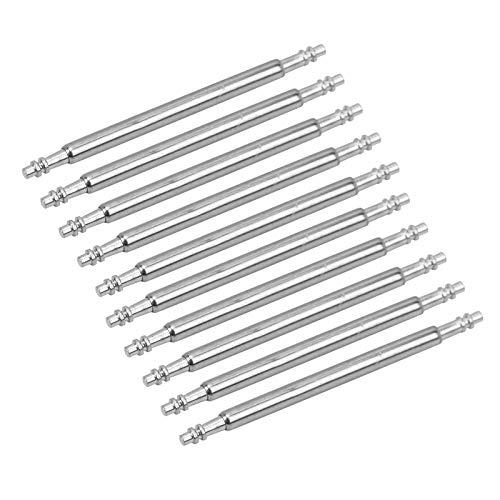 Barra de resorte de acero inoxidable, pasadores de eslabones de correa, 1,5 de grosor para reparación del kit de herramientas de extracción de correa de reloj