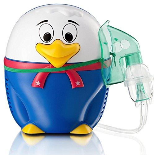 Only for Baby Happy Duck - Inhalador para niños Patito pequeño Aparato para medicamentos líquidos con compresor Nebulizador