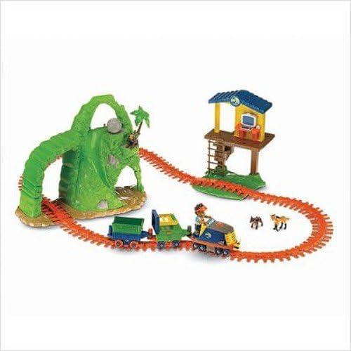 Fisher-Price Go Diego Go Animal Rescue Railway Track System by Dora the Explorer