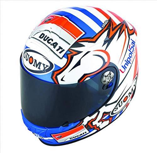 Ducati Suomy Helm Dovizioso Replica Integralhelm blau/rot Größe XL