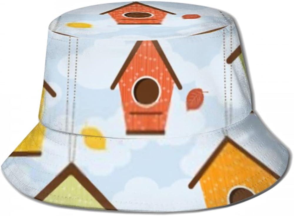 Sun Cap Hooray Popular product Birdhouses Five Hanging Cute Bucket Max 79% OFF Branches