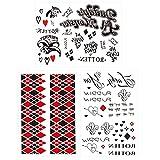 Fake Tattoos, 3-Sheet Women Temporary Tattoo Stickers...
