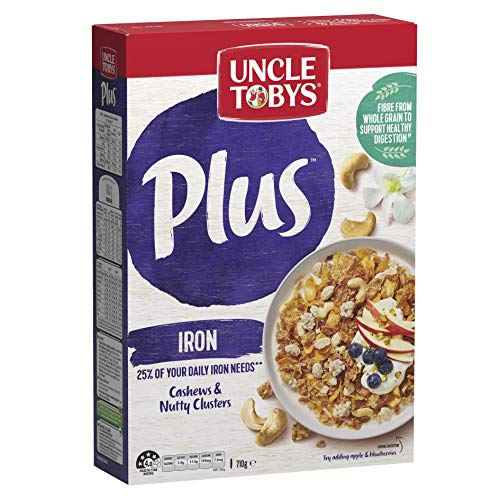 UNCLE TOBYS PLUS Iron Breakfast Cereal 710g