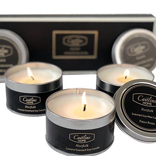 Caitlins Home Scented Candles Vanilla, Lavender, Rose Scents...