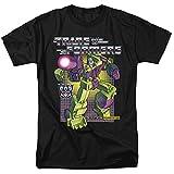 Transformers Devastator Unisex Adult T Shirt for Men and Women, Black, X-Large