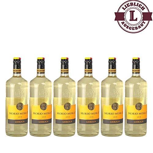 Weißwein Pfalz Morio-Muskat lieblich (6 x 1,0 l)