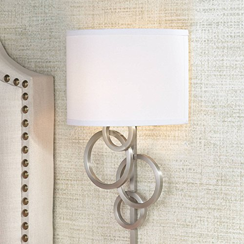 long wall sconce plug in - 4