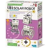 4M 3-In-1 Mini Solar Robot – STEM Toys DIY Green Science Eco-Engineering Building Kit Gift for Kids, 4M Mini Solar Robot 3 In 1