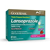 Good sense goodsense lansoprazole delayed release orally disintegrating tablets, strawberry, 42 count Compare to the active ingredient of prevacid 24 hr Imported from usa Package inludes 1 piece FSSAI Importer Licence no: 22119676000345