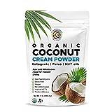 Earth Circle Organics - Organic Coconut Cream   Milk Powder, Perfect Keto Coffee Creamer - High in...