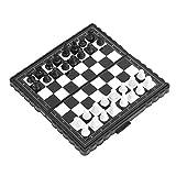 Juego de mesa de ajedrez Ajedrez, juego de ajedrez magnético, tablero de ajedrez portátil, ajedrez plegable, viaje para fiestas, actividades familiares