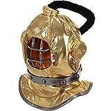 elope Inc Plush Diving Bell Helmet Mask Halloween Costume Accessory...