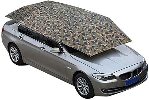 Nologo Sonnenschirme Vier-Jahreszeiten-Vollautomatische Auto Zelt Abdeckung Carport Klapp, beweglicher Movable Carport Auto Umbrella Tent Auto-Sonnenschutz mit Anti-UV