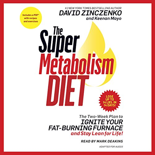 The Super Metabolism Diet audiobook cover art