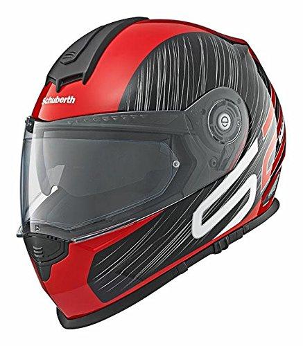 Motorrad-Helm Schuberth S2 Sport Drag Rot Sm 54/55