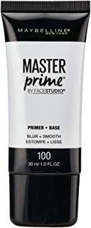 Maybelline New York Face Studio Master Prime Primer, Blur + Smooth, 1 Fluid Ounce