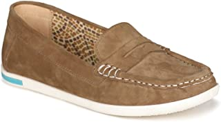 VAPH Women's Amelia Leather Loafers