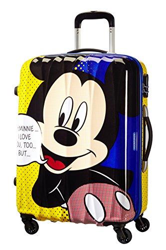 Samsonite American Tourister Disney Legends Spinner Bagaglio a Mano, 55 cm, 32 litri, Minnie Comics