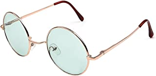 KINDOYO Retro Round Sunglasses Circle Vintage Goggles UV400 for Men & Women