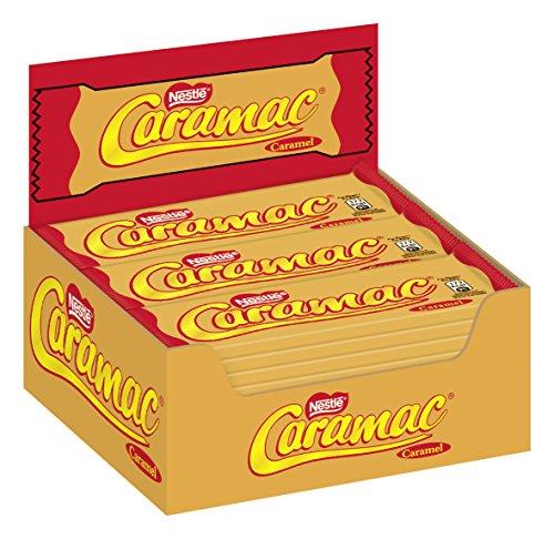 Nestlé Caramac Karamell-Riegel, glutenfreie und vegetarische Süßigkeit, ideal zum Naschen zwischendurch, Multi-Pack, 36er Pack (36 x 30 g)
