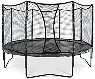 JumpSport AlleyOOP PowerBounce Trampoline with Enclosure | Outstanding Bounce Performance | 50+ Patent & Safety Innovations | 12' and 14