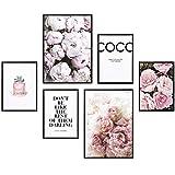 Heimlich Premium Poster Set | Stilvolles Set mit passenden Bilder als Wohnzimmer Deko | 2 x DIN A3 &...