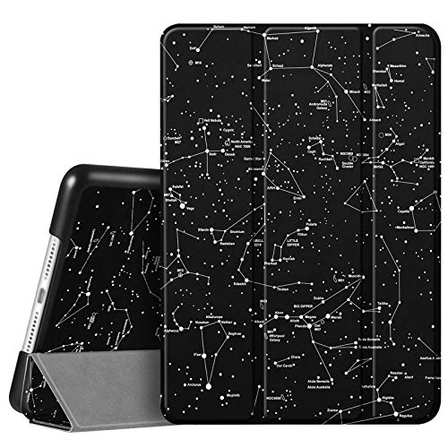 Fintie Case for New iPad 8th Gen (2020) / 7th Generation (2019) 10.2 Inch - Lightweight Slim Shell Standing Hard Back Cover with Auto Wake/Sleep Feature, Constellation