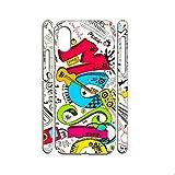None/Brand Cajas De Plástico Duro Diseño Music para Mujeres Compatible Samsung A50 Choose Design 49-3