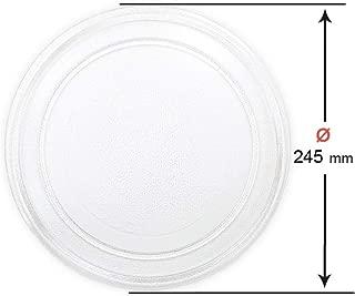 Plato Giratorio para microondas Goldstar LG 24,5 cm, sin Leng/üeta Central