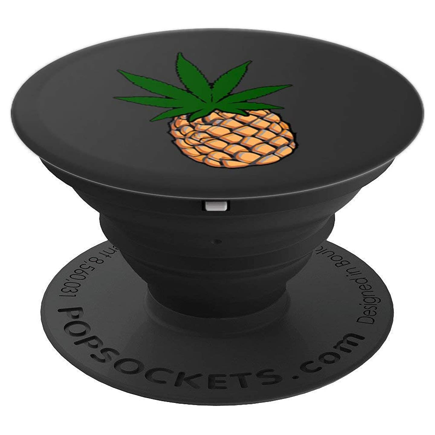 Pineapple express marijuana leaf popsocket weed pot cannabis - PopSockets Grip and Stand for Phones and Tablets
