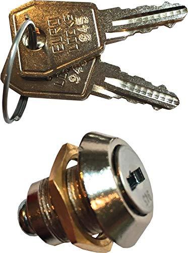 PROMAT Zylinderschl. m. zwei Schlüsseln f. Werkstattwagen m. 4 Schubl. PROMAT, mit zwei Schlüsseln, passend für