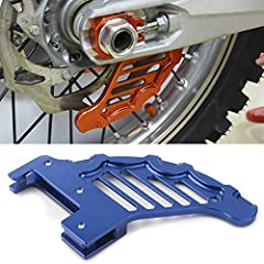 This brake disc rotor guards fits KTM, Husqvarna, Husaberg Dirt Bike with 20mm or 25mm rear axle. Giving the best protection to your motorcycle brake disc from stones and other solid objects. Made of high quality aluminum, CNC-Machined. 100% fit your...