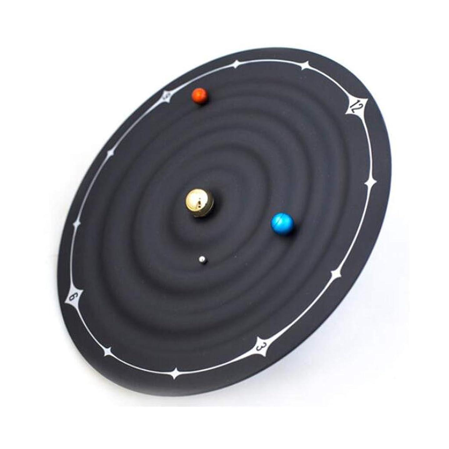 たくさんの歯車さまようウォールクロックシンプルな時計銀河モデリング壁時計創造的な磁気時計 JSFQ