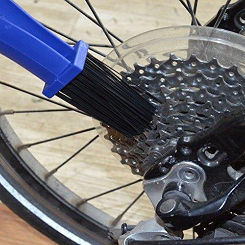 tuankay Moto Chaîne de vélo Gear Brosse de Nettoyage à récurer Outil 3 en 1
