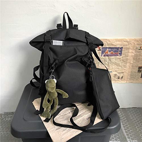 Rucksack Reisetasche Schultasche Herrentasche Großraumrucksack Weiblicher Modetrend Lässiger Rucksack Reiserucksack 3