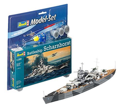 Revell GmbH 165 445,4 cm (cuirassé Scharnhorst Ensemble de modèle