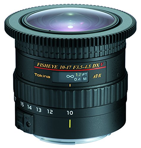 Tokina AT-X 10 – 17 mm F3.5 – 4.5 DX V Lente para cámara Canon